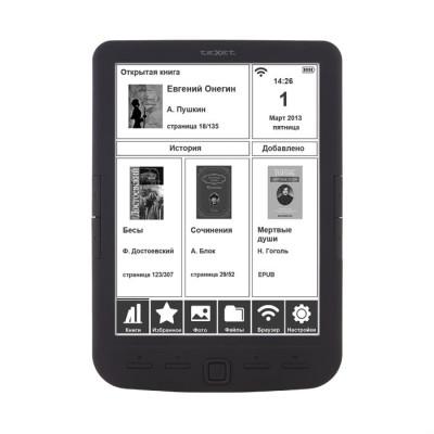 Электронная книга Texet TB-138 (Черная)