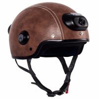 Шлем с камерой Airwheel C6 (цвет кофе, размер L)