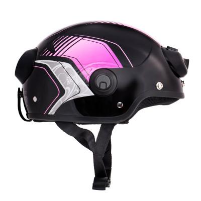 Шлем с камерой Airwheel C6 (цвет фиолетовый, размер L)