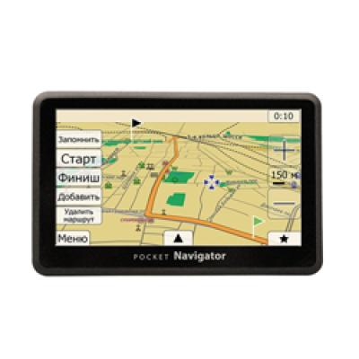 GPS навигатор Pocket Navigator GS-500 (Автоспутник 5 - карты России)