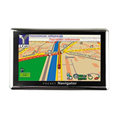 GPS навигатор Pocket Navigator MC-500 R2 (Автоспутник 5 - карты России)
