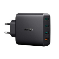 Сетевое зарядное устройство Aukey PA-T18 4-Port (1 QC3.0 + 3 AiPower) 42W