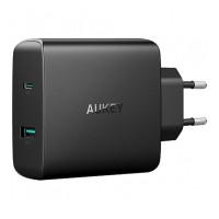 Сетевое зарядное устройство Aukey PA-Y10 USB-C/USB-A