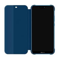 Защитный чехол-книжка Huawei P20 Lite (Синий)