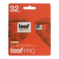Карты памяти MicroSD 32GB  LEEF Eng Pkg Pro UHS-1 + SD адаптер 300x