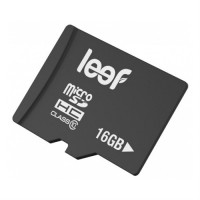 Карты памяти Leef microSDHC Class 10 16GB + SD adapter