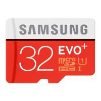 Карты памяти MicroSD 32GB Samsung EVO+ Class10 U1, R/W 80/20 MB/s (MB-MC32DA/RU)