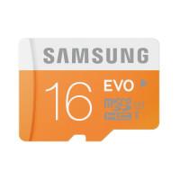 Карты памяти MicroSD 16GB Samsung EVO Class10 UHS-I speed up to 48MB/s (MB-MP16DA/RU)
