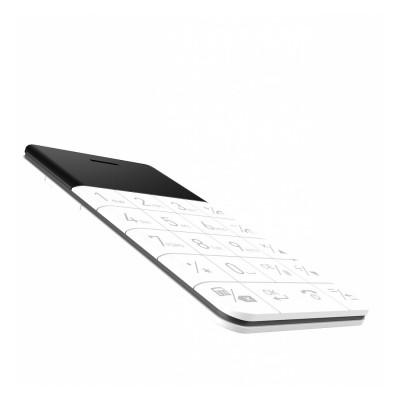 Ультратонкий анти-смартфон Elari CardPhone (Белый)