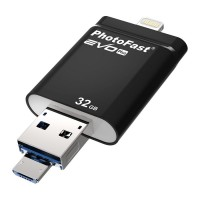 Флеш-накопитель PhotoFast i-FlashDrive EVO Plus 32Gb