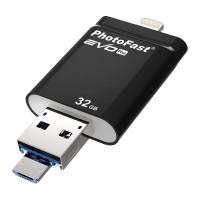 Флеш-накопитель PhotoFast i-FlashDrive EVO Plus 32Gb