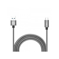 Кабель Nillkin Elite cable(USB 3.0-Type C) 1.2 m/3A Grey (серый)