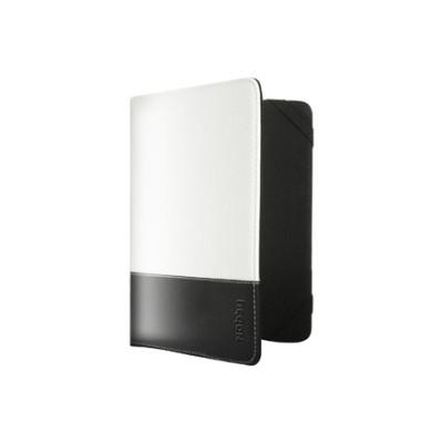 """Чехол Nobby Comfort CT-001 для планшетов 7"""" PU (Белый, черная полоса)"""