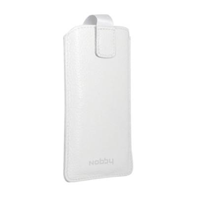 Сумка Nobby Comfort WM-001 для телефонов XXL кожа (Белый)