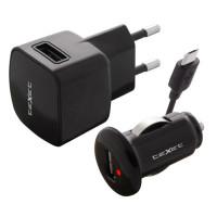 Комплект USB зарядных устройств Texet PowerUno TCS-1101, 1A