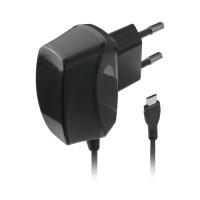 Сетевое зарядное устройство Texet PowerMate TTC-1075, 1 А, разъем microUSB универсальный