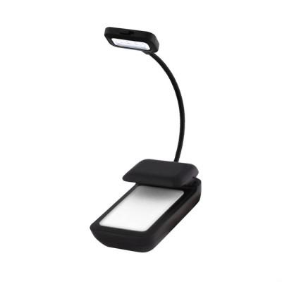 Лампа подсветки экранов электронных книг с e-ink Texet SwanNeck TBL-2201 (Черная)