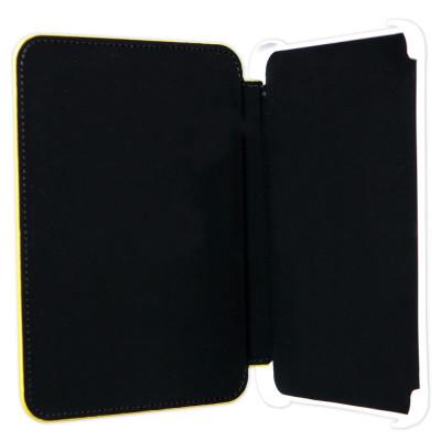 Pocket Nature чехол стандартный для ONYX Dontsova Book (желтый с тиснением, подкладка черная, держатели белые)