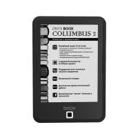Электронная книга ONYX BOOX COLUMBUS 2 (Черная) + карта 16Gb