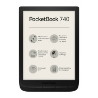 Электронная книга PocketBook 740 (Черная)