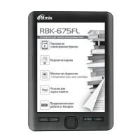 Электронная книга Ritmix RBK-675FL (Черная)