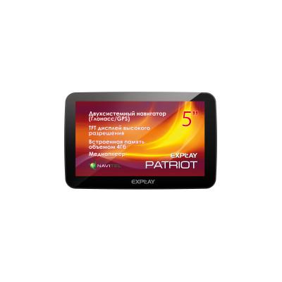 GPS навигатор Explay Patriot (Навител - карты России)