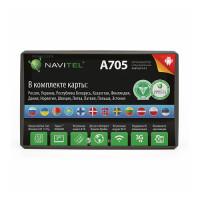 GPS навигатор Navitel A705 (Навител - карты России, Украины, Республики Беларусь, Казахстана, Финляндии, Дании, Норвегии, Швеции)