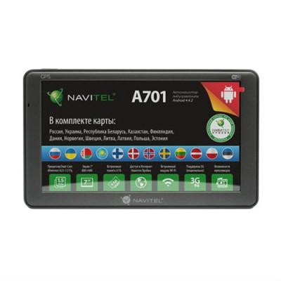 GPS навигатор Navitel A701 (Навител - карты России, Украины, Республики Беларусь, Казахстана, Финляндии, Дании, Норвегии, Швеции)