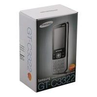 Мобильный телефон Samsung GT-C3322 (Черный)