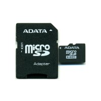 Карты памяти A-Data 8Gb MicroSDHC (Class 10)