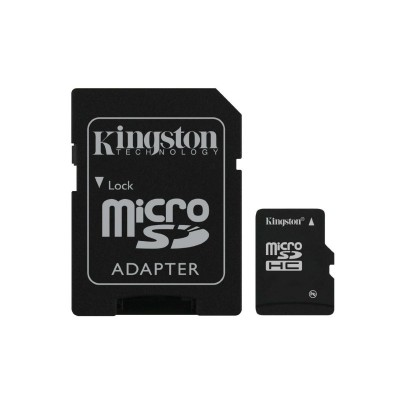 Карты памяти Kingston MicroSD 32GB Class 10  UHS-I  45 MB/s без адаптера