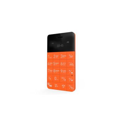 Ультратонкий анти-смартфон Elari CardPhone (Оранжевый)