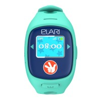 Детские часы-телефон Elari Fixitime 2 c GPS/LBS/WiFi-трекером (Голубые)