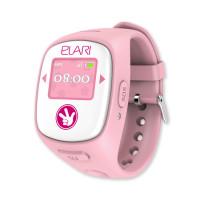 Детские часы-телефон Elari Fixitime 2 c GPS/LBS/WiFi-трекером (Розовый)