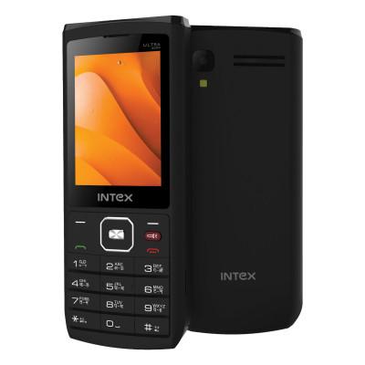 Мобильный телефон INTEX Ultra 4000 (Черный)