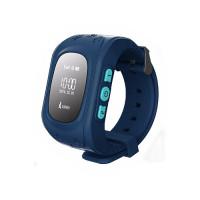 Детские часы-телефон с GPS-трекером Кнопка жизни K911 (Синие)