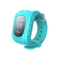 Детские часы-телефон с GPS-трекером Кнопка жизни K911 (Голубые)