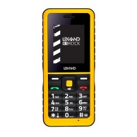 Мобильный телефон LEXAND R1 Rock (Черно- желтый)