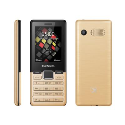 Мобильный телефон teXet TM-230 (Золотой)