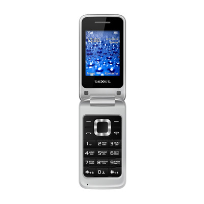 Мобильный телефон teXet TM-304 (Серебряный)