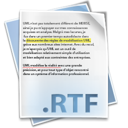 Тексты RTF