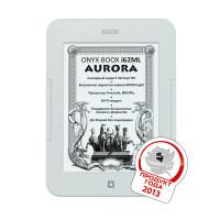 Электронная книга ONYX BOOX i62ML Aurora (Белая) + карта 16Gb