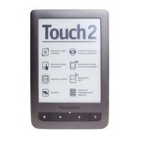 Электронная книга PocketBook Touch 2 (Серебристая)