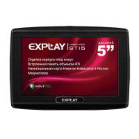 GPS навигатор Explay STI5 (Навител - карты России)