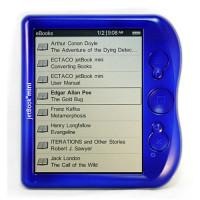 Электронная книга Ectaco jetBook mini (Голубая)