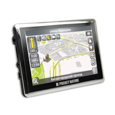 GPS навигатор Pocket Nature NP-015 (Навител - карты России)
