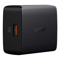 Сетевое зарядное устройство Aukey PA-T17 1-Port 18W Wall Charger (QC 3.0)