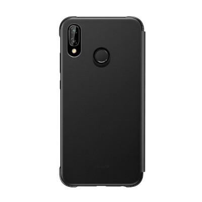 Защитный чехол-книжка Huawei P20 Lite (Черный)