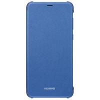 Защитный чехол-книжка Huawei P Smart 2019 (Синий)