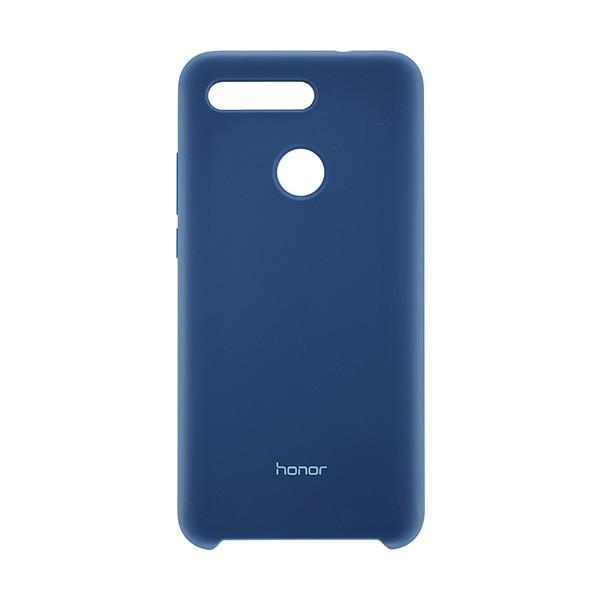 Чехол задник Honor View 20 силикон (Синий) защитное стекло mobius huawei honor view 10 синий